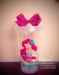 Personalized #underthesea #tumbler by #LikiDesigns