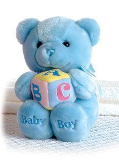 Aurora Plush 9 ABC Musical Comfy Baby Boy Bear