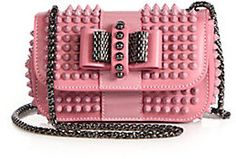 Christian Louboutin Sweety Charity Studded Crossbody Bag