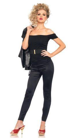 Grease Bad Sandy Outfit Adult Costume #besthalloweencostumes #halloweencostumesforwomen