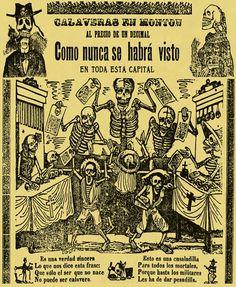 Jose Guadalupe Posada: Calaveras en Monton