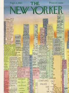 The New Yorker - Saturday, September 8, 1962 - Issue # 1960 - Vol. 38 - N° 29 - Cover by : Charles E. Martin