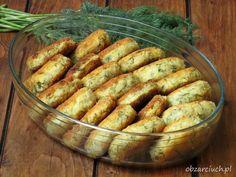 Kotlety ruskie z koperkiem - Obżarciuch Superfoods, Hot Dog Buns, Gluten Free Recipes, Sausage, Good Food, Food And Drink, Vegetarian, Lunch, Bread