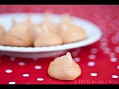 Clean Eating Recipes | Clean Eating Maple Meringues by TheGraciousPantry.com - YouTube