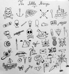 Resultado de imagem para small tattoos