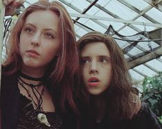 """"""" Out by sixteen or dead on the scene but together forever. Goth Aesthetic, Aesthetic Movies, Movies Showing, Movies And Tv Shows, Ginger Snaps Movie, Katharine Isabelle, Estilo Grunge, Cinema, Punk"""