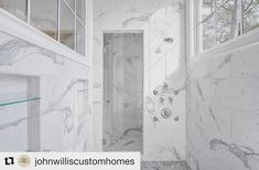 Pure perfection  #bath #bathdesign #designer #interiordesign #finishes #wushlist #inspo #whitemarble #stunning