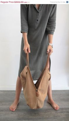 Camel leather tote bag Soft leather bag Charley by LadyBirdesign, $274.50