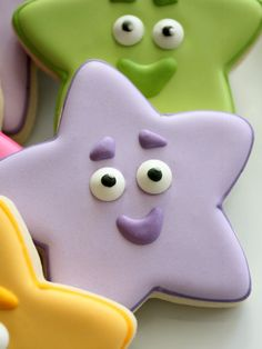 Simple Dora the Explorer Star Cookies