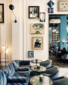 interior of proper hotel designed by kelly wearstler. / sfgirlbybay