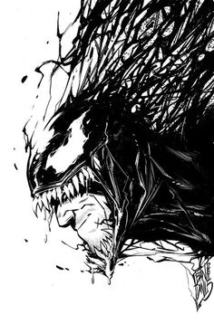 The Venom Movie has started Production. This is what we know about the Venom Movie, Possible Marvel Comics Source Material and Other Symbiotes we might see. Marvel Fanart, Marvel Comics, Marvel Venom, Marvel Villains, Marvel Vs, Marvel Heroes, Venom Comics, Marvel Universe, Comic Books Art