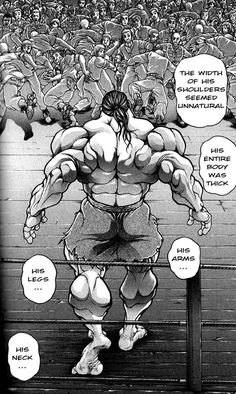 Yuichiro Hanma (Father of Yujiro Hanma) Baki The Grappler