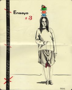 ensayo #3 Erika, Sculptures, Ink, Illustration, Artist, Painting, Labor, Inspiration, Essayist