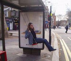 image drole - En attendant le bus...