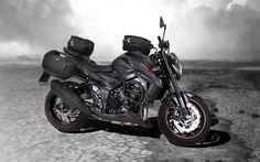 Download wallpapers Suzuki GSX-S750, 4k, superbikes, 2018 bikes, japanese motorcycles, new GSX-S750, Suzuki