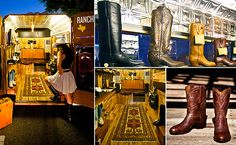 Bring back the western feel with a pair of boots from the Boot Saloon in the Valley.