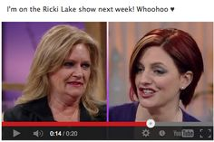 I'm on Riki Lake Next Week - March 12th, 2013 - Tune In!     https://www.youtube.com/watch?feature=player_embedded=9jaY3s42goY    #rikilake  #lisawilliams #psychic #psychicreadings