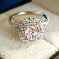 I realize I'm already engaged, but this is GORGEOUS! 15 Stunning Engagement Rings by Dream Engagement Rings, Wedding Engagement, Wedding Rings, Solitaire Engagement, Wedding Bride, Pretty Rings, Beautiful Rings, Schmuck Design, Dream Ring
