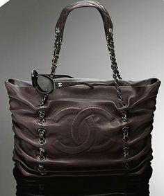 Chanel Purses | Chanel Large Lambskin Tote - Purses, Designer Handbags and Reviews at ...