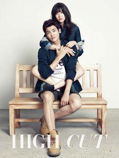 하이컷 - 패션, 뷰티, 대중문화 커뮤니티와 다채로운 이벤트 <HIGH CUT> 박형식+남지현 - Park Hyung Sik (Hyungsik) [ZE:A] + Nam Ji Hyun