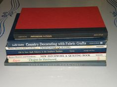 Huge LOT OF 7 Hard Cover QUILTING Patchwork Embroidery BOOKS