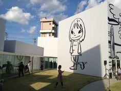 Yoshitomo Nara Exhibition at Towada Art Center in Aomori