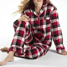 Women's Warm Soft 2 Piece Pajama Warm Home Wear | Homey ...
