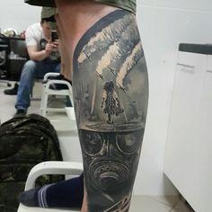 Healed work, done 2 months ago. Using machines, Body Art Tattoos, Cool Tattoos, Instagram Widget, Instagram Posts, Halo 2, Picture Tattoos, Tattoo Pics, Tattoo Ideas, Bird Tree