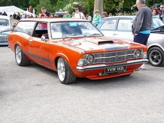 Ford Cortina MK3 Estate Custom V8 by © Andrew, via Flickr