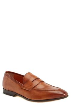 Santoni 'Tristan' Penny Loafer (Men) available at #Nordstrom