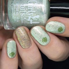 Who needs a pot of gold when you have nail polishes like this? St Patricks Day Nails, Celebrity Nails, Matte Top Coats, Pot Of Gold, Stamping Plates, Sally Hansen, Beauty Shop, Essie, Girly