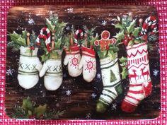 Susan Winget Christmas Tray