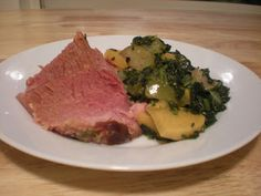 Ham with Turnips and Apples