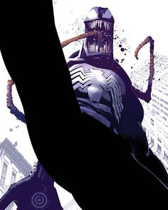 Dark Reign: The Sinister Spider-Man 1 Cover. #darkreign #sinisterspiderman #SpiderMan #macgargan #venomsymbiote #venom #brianreed #chrisbachalo #marvelcomics #marvel #comics