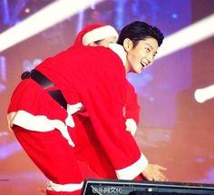 I want u santa for Christmas