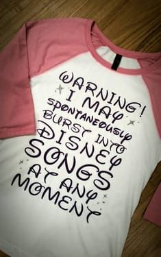 Disney Tee Shirts That Make You Scream I Do That! - Awsome Shirts - Ideas of Awsome Shirts - Disney Tee Shirts That Make You Scream I Do That! Disney Diy, Walt Disney, Disney Tees, Disney Love, Disney Songs, Disney 2017, Disney Travel, Cute Disney Quotes, Disney World Shirts