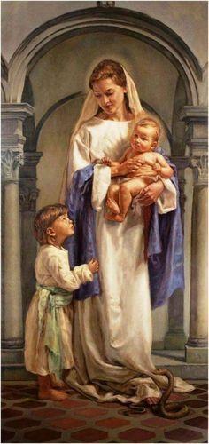 Oración de súplica a la santísima virgen María para recibir un favor