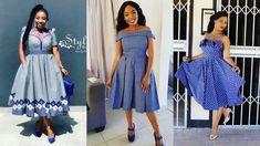Amazing Lesotho shweshwe Dresses Of This Week - Fashion African Fashion Designers, Latest African Fashion Dresses, African Traditional Wedding Dress, Shweshwe Dresses, Latest Ankara Styles, Fashion Outfits, Womens Fashion, Ladies Fashion, Dress Picture