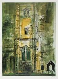 John Piper 'Wymondham, Norfolk', 1971 © The Piper Estate