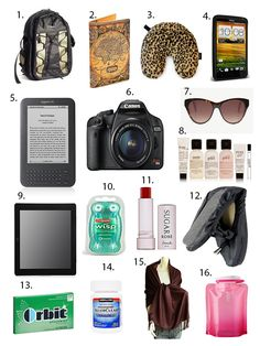 Lemons, Avocados, and the Bay: What's In My Carry-On Bag?