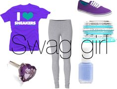 """""""Swag girl"""" by meratvnetwork on Polyvore"""