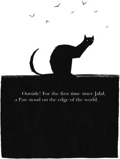 The Outlaw Varjak Paw (fyi frickin love this book) Dave Mckean, The Carrie Diaries, Sketch 4, Beloved Book, The Fault In Our Stars, Cat Paws, Black Cats, Illustration Art, Character Design