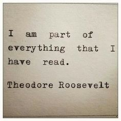 A beautiful truth about why we read. To join adventures, love characters and wander into new reflections.>>>>>yeah