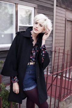 Love Fashion, Fashion Show, Autumn Fashion, Fashion Outfits, Cut And Style, Cool Style, My Style, Agyness Deyn, Stylish Haircuts