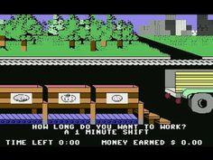 Donald Duck's Playground (c64) longplay - YouTube. One of my favourites!!