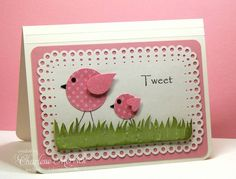 CAS Tweet Colors CKM by LilLuvsStampin - Cards and Paper Crafts at Splitcoaststampers