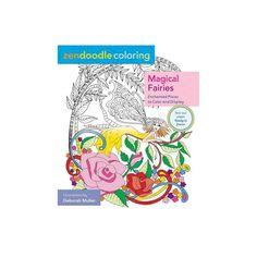 Zendoodle Coloring: Magical Fairies - by Deborah Muller (Paperback)