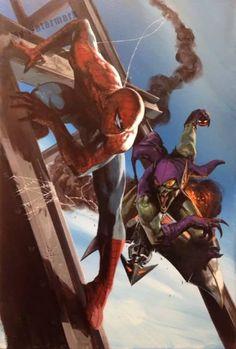 Spider-Man vs. Green Goblin