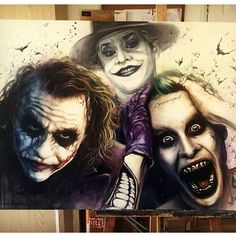 A bunch of clowns! By @benjefferyartist #artofdrawingg