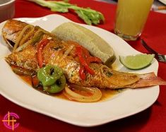 Creole Red Snapper - Haitian specialty consisting of slow-cooking well marinated red snapper with water, tomato paste and spices on medium-low heat. Creole red snapper must be simmered, not boiled. .....